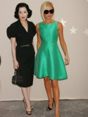 Dita Von Teese: Victoria Beckham brings glamour to LA