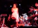 Lily Allen sings song about Cheryl Cole (Then Tweedy) at the 2007 Coachella festival in California