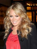 Hilary Duff's holiday hair protection