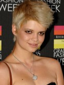 Pixie Geldof models for Italian Vogue