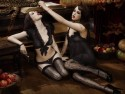 Daisy Lowe and Peaches Geldof star in Agent Provocateur shoot - Season Of The Witch