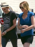 Lindsay Lohan sobs in street after row with Samantha Ronson