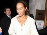 Leona Lewis is bare faced