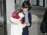 Suri Cruise | Suri Cruise hides her face | Now Magazine | Celebrity Gossip