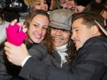 Brad Pitt | Brad Pitt brings a smile to a fan's face | Pictures | Now Magazine | Celebrity Gossip