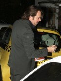 Jonathan Ross nurses 'sore head' after high speed crash