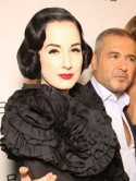 OMG! Dita Von Teese: Ive got three men on the go