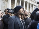 Russell Brand | Russell Brand joins the protests | Pictures | now magazine | celebrity gossip