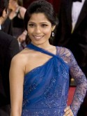 Freida Pinto: I had to dress up as a Teletubby