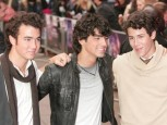 The Jonas Brothers at Jonas Brothers: The 3D Concert Experience premiere in London | Red Carpet | London Premiere | Pictures | Now Magazine | Celebrity Gossip