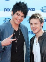 Adam Lambert and Kris Allen at American Idol 2009: season 8 finale in LA | Red Carpet | LA Premiere | Pictures | Now Magazine | Celebrity Gossip