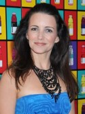 Kristin Davis is in chains