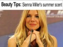 Beauty Tips: Sienna Miller's summer scent