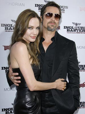 Angelina Jolie and Brad Pitt | Inglourious Basterds premiere in Hollywood | Now Magazine | Pictures | Celebrity Gossip | Red Carpet