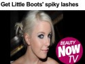 Beauty Tips: Get Little Boots' spiky lashes