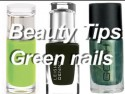 Beauty Tips: Alexa Chung's green nails