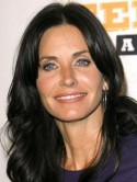 Courteney Cox's young-looking skin