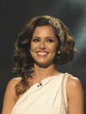 Glam up hair with a barrette like Cheryl Cole