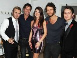 Take That Gary Barlow Jason Orange Rebecca Barton Howard Donald Mark Owen | Pictures | Now Magazine | Celebrity Gossip