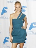 Cat Deeley's a treat in teal