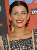 Nelly Furtado's 80s make-up