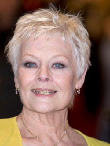 judi dench hairstyle. 12 of 19 pictures Prev Play Next