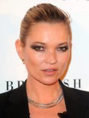 Kate Moss believes in iced water with cucumber