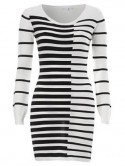 New Look Stripe Piano dress
