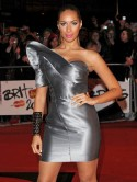 Leona Lewis's colour clash courts