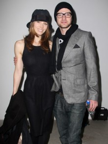 Justin Timberlake  on Justin Timberlake And Jessica Treated Their Guests To A Feast On The