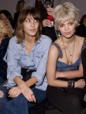 Alexa Chung's sexy new denim look