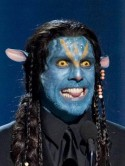 VIDEO Ben Stiller dresses as Avatar character at Oscars