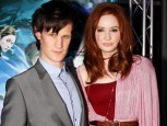 Matt Smith & Karen Gillan | Doctor Who premiere | pictures | now magazine |celebrity gossip