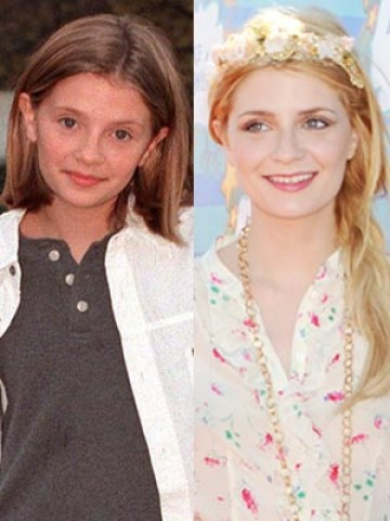 Mischa Barton Then And Now CELEBRITY PHOTOS Child...