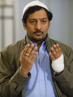 EastEnders: Masood sees son's gay kiss | pictures | now magazine | tv news |