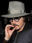 Celebrity Smokers |Johnny Depp | Pictures | Now Magazine | Celebrity Gossip