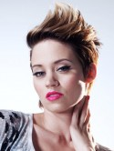 VIDEO Kimberly Wyatt's photo shoot make-up