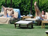 Christine Bleakley and Frank Lampard | Christine Bleakley and Frank Lampard holiday in the sun | pictures | now magazine | celebrity gossip