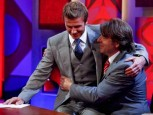 David Beckham and Jonathan Ross | Celebrity | New | Now | Celebrity spy | Celebrity Gossip | Pictures | Photos | Gallery
