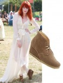 EXACT MATCH: Florence Welch bags bargain boots at Clarks