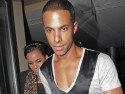 Marvin Humes and Rochelle Wiseman enjoy romantic night out