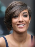 Frankie Sandford's sexy haircut
