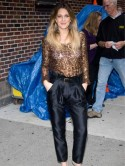 Get Drew Barrymore�s sequin look