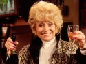 Peggy Mitchell says goodbye to the Queen Vic for good