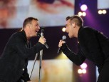 Gary Barlow and Robbie Williams | Help For Heroes Concert | Celebrities | Photos | Pictures | Now Magazine