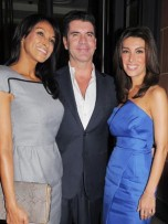 Jackie St Claire, Simon Cowell and Mezhgan Hussainy | Celebrity | New | Now | Celebrity spy | Celebrity Gossip | Pictures | Photos | Gallery