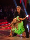 Peter Shilton voted off Strictly Come Dancing