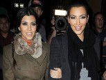 Kim and Kourtney Kardashian | Celebrity Gossip | Pictures | Photos | Gallery