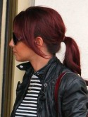 WOW! Cheryl Cole has red hair