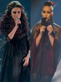 PICS X Factor Get The Look: Cher Lloyd and Rebecca Ferguson